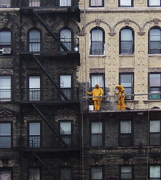 мойка фасадов зданий